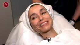 La doctora María Dolores Antón realiza una sesión de thermage a una paciente muy querida y especial