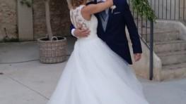 Revivimos la emotiva boda de nuestra querida María Querol de la mano de Paloma Mas y Donís Salvador
