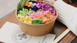 Os traemos el Poké Flower Power, un colorido y saludable plato que llega desde el paraíso hawaiano directamente hasta Valencia